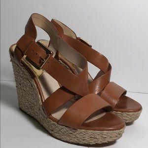 MICHAEL Michael Kors Giovanna Wedge Sandal 9.5